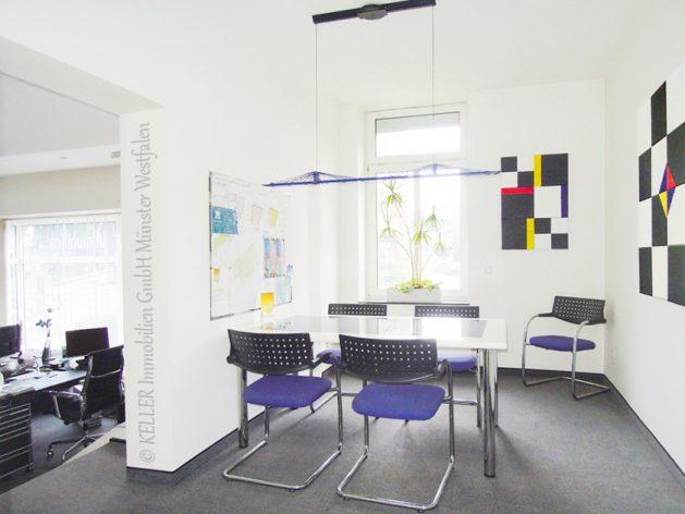 Das Beratungszimmer der Filiale an der Hammer Str. 154.
