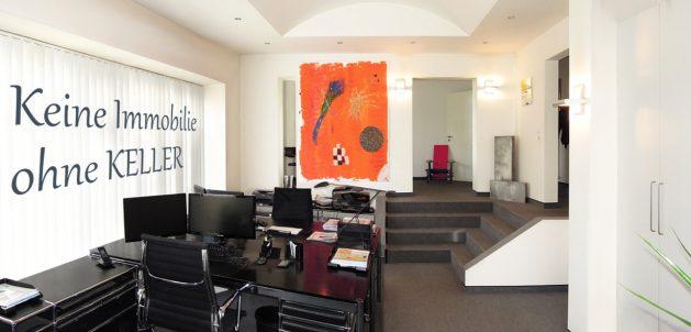 Das Maklerbüro der KELLER Immobilien GmbH Münster.